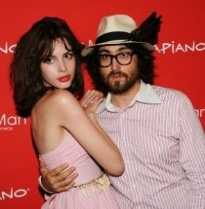 "Charlotte Kemp Muhl calls the music she and Sean Lennon make a ""hybrid of our two minds.''"
