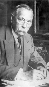 """AP/FILE In Graham Moore's new novel, """"The Sherlockian,'' Sir Arthur Conan Doyle (above) is one of the characters trying to solve a mystery in one of two story lines."""