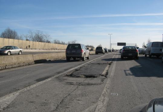 Despite recent highway work, sections of Interstate 93 between Exits 30 and 31 are in poor condition. Readers also complain the Route 16 access ramps in Medford are pothole-ridden.