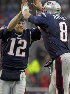 Backup Brian Hoyer's first NFL touchdown pass got the seal of approval from starter Tom Brady.