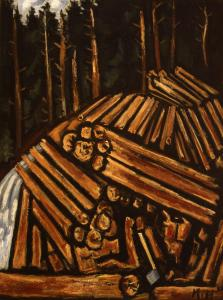 The painting is a superb composition, the sort of fearless pictorial hit-and-run at which Marsden Hartley excelled.