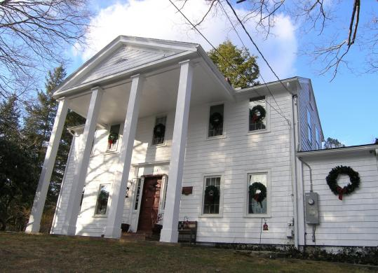 With two guest rooms and a shared bath and parlor, Hickory Hill Bed & Breakfast is the newest of Pomfret's many B&B lodgings.