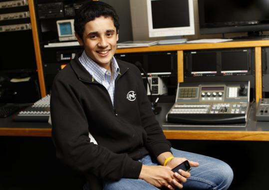 Avdeep Sahi, 16, has made a niche for himself in LexMedia's computer lab.