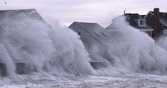 Scituate suffered the heaviest losses as last week's nor'easter pounded the South Shore. Four hundred homes were damaged and storm surges breached a seawall. Residents are looking to the government for help in rebuilding, but aid is not certain to come.