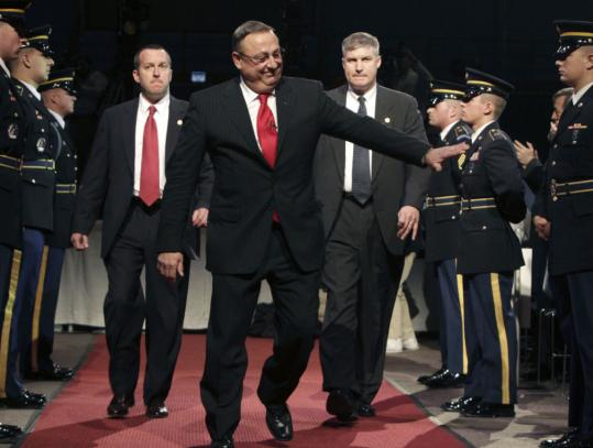 "At his inauguration yesterday, Governor Paul LePage of Maine said: ""It's time to make state government more accountable. It's time to deliver value to our taxpayers.''"