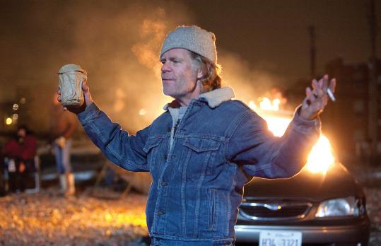 "William H. Macy plays the boozy single parent of six in ""Shameless.''"