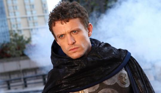 David Lyons stars as Vince Faraday, a superhero without super powers but with a special cape that helps him fight crime.
