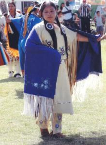 In 2009, Alice Lopez took part during a powwow in Bermuda.