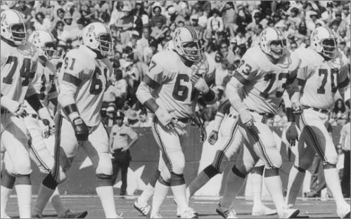 1978 continued Ivory, Sam Cunningham, Andy Johnson, and quarterback Steve Grogan all rushed for more than 500 yards on a team that had an NFL-best 3,165 yards. Linebacker Steve Nelson and cornerback Mike Haynes led the defense. In a wild twist near the end of the season, coach Chuck Fairbanks was working on a deal to coach the University of Colorado. Owner Billy Sullivan suspended Fairbanks, and Ron Erhardt and Hank Bullough coached the last game against the Dolphins. After some legal wrangling, Fairbacks was back on the sidelines for a 31-14 loss to the Houston Oilers in the Patriots' first home playoff game ever.