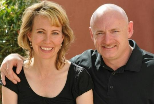 Representative Gabrielle Giffords, here with her husband, astronaut Mark Kelly, was just sworn in for her third term.