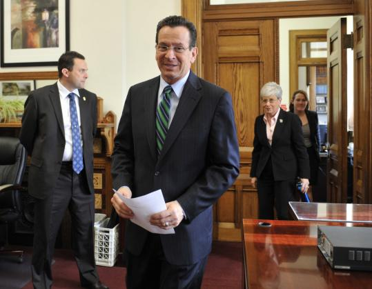 Governor Dannel P. Malloy asked for suggestions from state workers on how to improve efficiency and cut the budget. He received nearly 150 e-mails on his first full day in office.