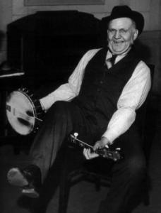 Pioneering banjo player Uncle Dave Macon.