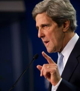 Senator John F. Kerry spoke in Washington, days after the shootings in Arizona.