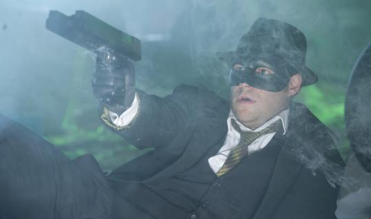 """Seth Rogen is co-writer and star of the new action flick """"The Green Hornet.''"""