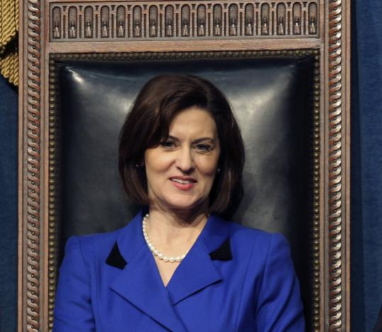 Vicki Kennedy ended speculation this week that she would run for the seat her husband, Senator Edward M. Kennedy, held for decades, freeing Democrats to challenge Senator Scott Brown.