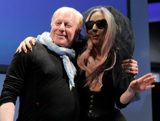 Polaroid chairman Bobby Sager unveiled new products with Lady Gaga at an industry show in Las Vegas last week. The singer is Polaroid's creative director.