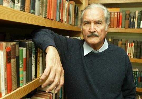 Daniel Aguilar/Reuters Author Carlos Fuentes's latest novel includes a torrent of his trademark digressions.