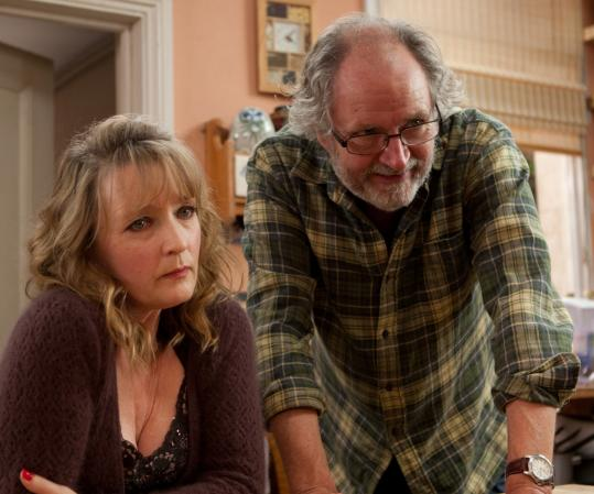 "Lesley Manville, who stars with Jim Broadbent in Mike Leigh's ""Another Year,' says being a character actor in Britain means something very different — and more substantial — than it does in America."