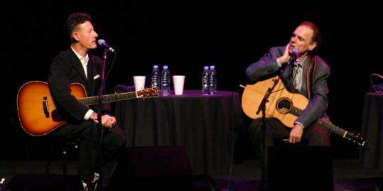 Lyle Lovett and John Hiatt (pictured in Memphis in 2008) have performed together in an almost yearly tradition since 1989.