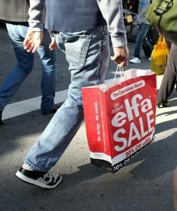Also yesterday, the Commerce Department reported that retail sales rose for a sixth consecutive month.