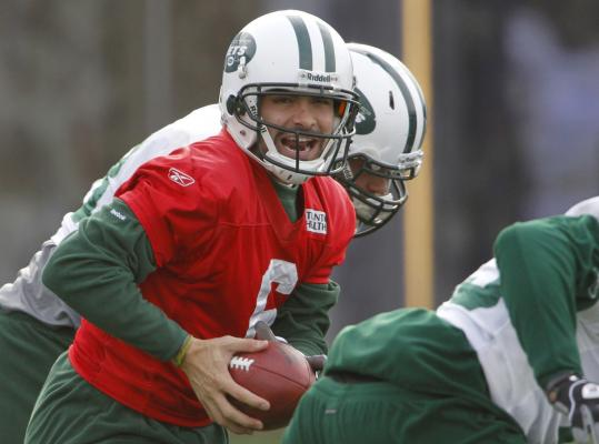 After having an up-and-down rookie season, quarterback Mark Sanchez has made great strides running the Jets offense.