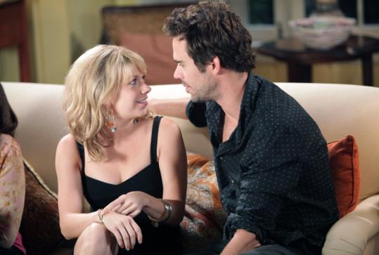 Mary Elizabeth Ellis and David Walton play one of the couples on NBC's new Thursday night sitcom.