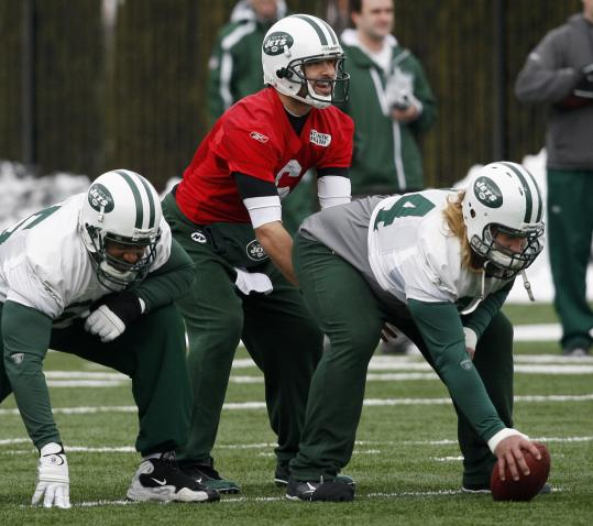 Quarterback Mark Sanchez and the Jets will line up on Sunday against a Steelers team they say they have a lot of respect for.