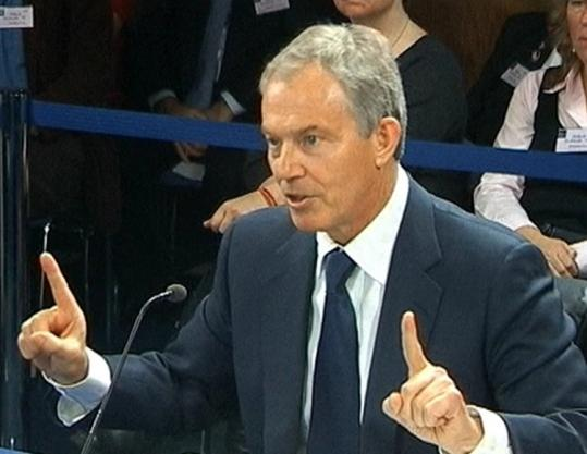 'I want to make it clear that of course I regret deeply and profoundly the loss of life,'' Tony Blair said yesterday.