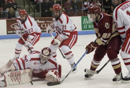Hockey East: With Three In First, BC Pulls Fast One