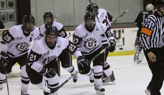 ECAC: Boxborough's Simpson Brothers Fill Power-play Roles For Union College