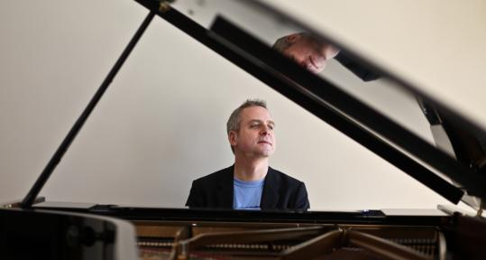 "Jeremy Denk in New York. In Sunday's performance in Boston, he paired Ligeti's Etudes with Bach's ""Goldberg'' Variations."
