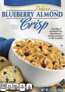 """This product shows """"Nutrition Keys'' labels (lower left) as they would appear on a box of cereal. The voluntary new labels will list calories, saturated fat, sodium, and sugars per serving."""