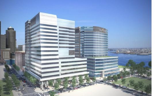 Vertex Pharmaceuticals would occupy about 1.1 million square feet, filling a pair of 18-story buildings at Fan Pier.