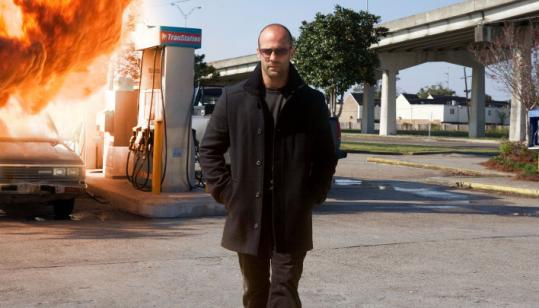 "Jason Statham stars in the remake of the 1972 action thriller ""The Mechanic.''"