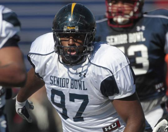 Cal's Cameron Jordan has been nearly unblockable at Senior Bowl practices.
