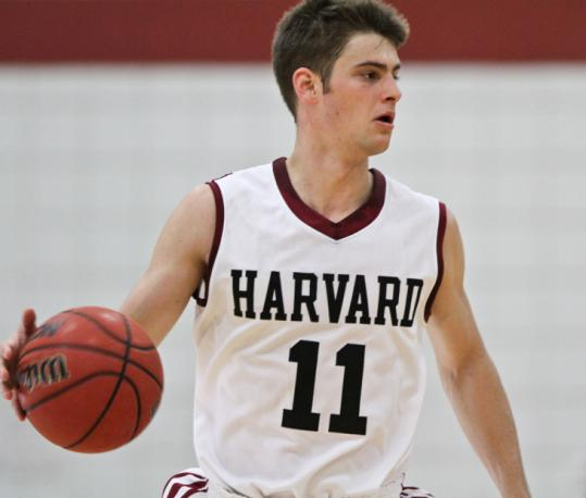 Stats can't say it all about Harvard guard Oliver McNally, but he is fourth in the nation in free throw shooting percentage.