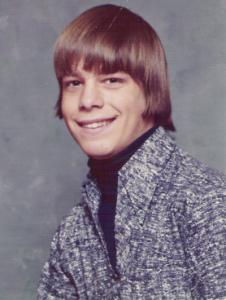 Henry Bedard in his 1974 yearbook photo.
