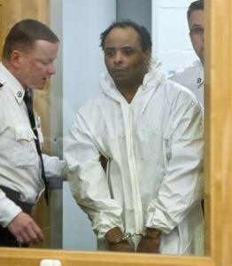 Deshawn James Chappell is brought into Chelsea District Court where he was ordered to be held for mental evaluation.