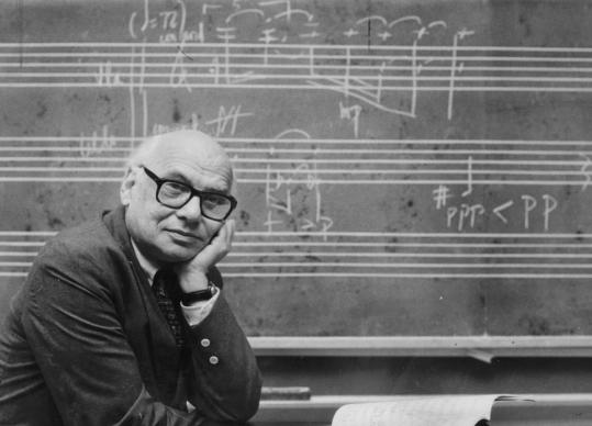 """Milton Babbitt blended electronic music with vocal performances in works such as """"Vision and Prayer'' and """"Reflections.''"""