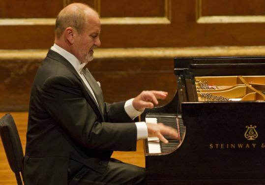 "Mykola Suk plays ""Hungarian Rhapsody No. 12'' on Sunday."