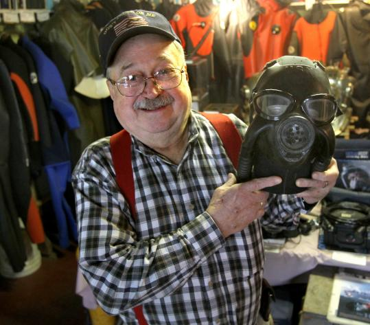 Keeper of the Diving Locker tells of his underwater world