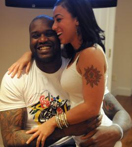 Shaquille O&#8217;Neal and Nikki &#8220;Hoopz&#8217;&#8217; Alexander share a lighthearted and playful relationship.