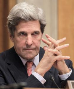 Senator John Kerry, in his role as Senate Foreign Relations Committee chairman, holds a hearing on Iraq and how to transition to a civilian government.
