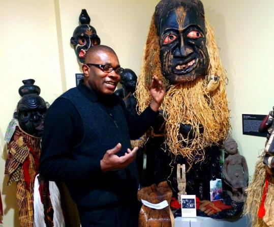 Water and wine pots are on display at the Museum of African Culture, but Oscar Mokeme's collection of masks is the heart of the place. His oldest mask dates from about 1600, but most are from the 19th and early 20th centuries.