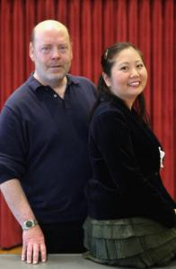 Sanford Sylvan and Sol Kim Bentley star in Opera Boston's production of 'Cardillac.'