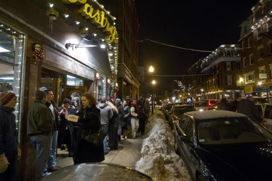 Hanover Street in the North End draws massive crowds, as it did on a recent Saturday evening in January.