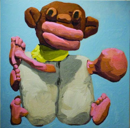 "Peter Opheim's ""Untitled'' at Steven Zevitas Gallery."