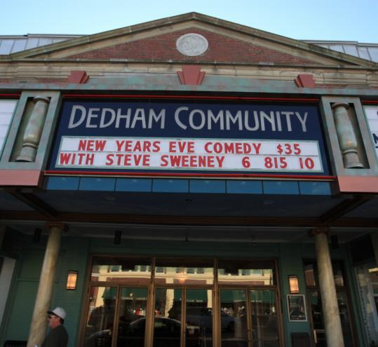 Dedham Community Theatre holds on with help from king ...