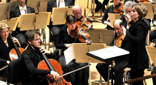 With Alban Gerhardt as guest cellist, Susanna Malkki led the BSO in a program including the American premiere of Unsuk Chin's Cello Concerto.