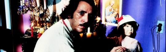 "Joe Spinell in the 1980 horror film ""Maniac,'' which is being re-released."